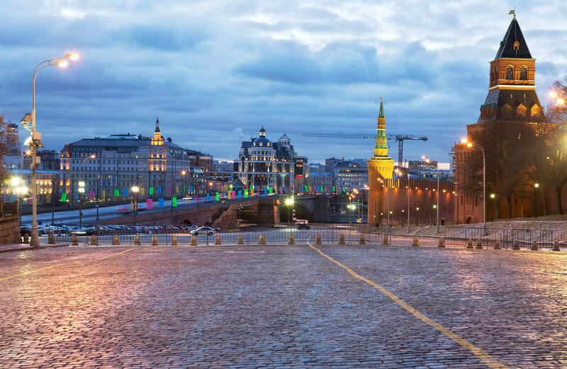 Москва Васильевский спуск