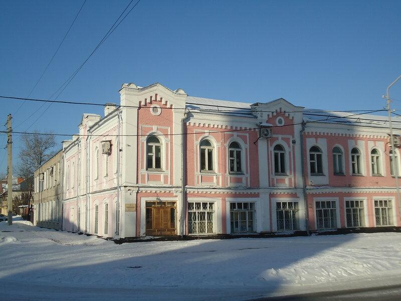 Бийск. Дом купца Рождественского