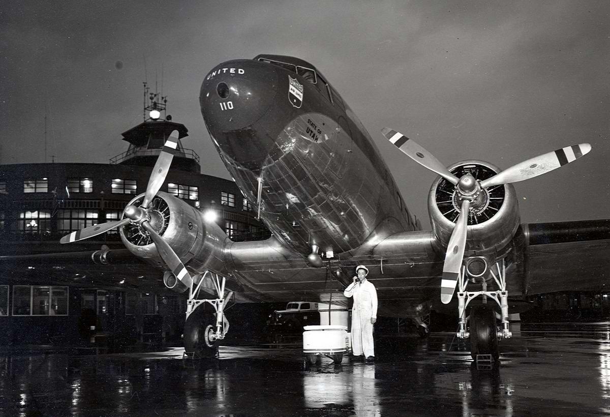 Самолеты и пилоты начала 20-го века на снимках американских фотографов (46)