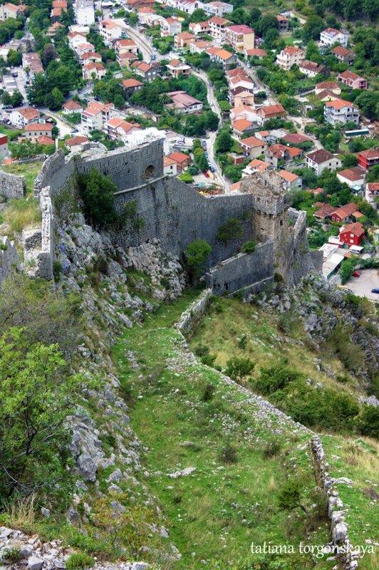 Вид на башню Контарини и укрепление Св. Йеролима