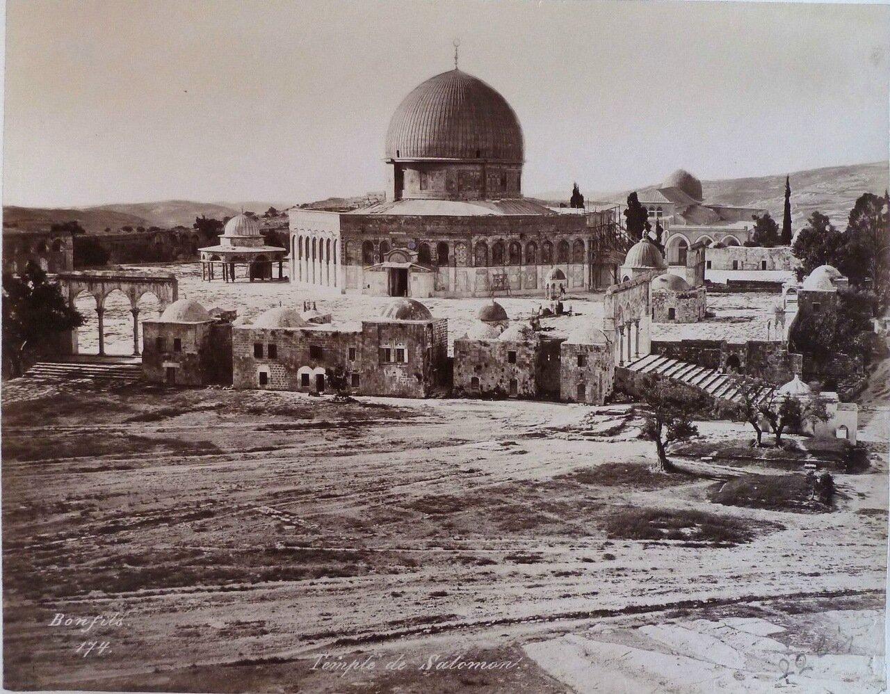 Иерусалим.  Мечеть Омара , 1882