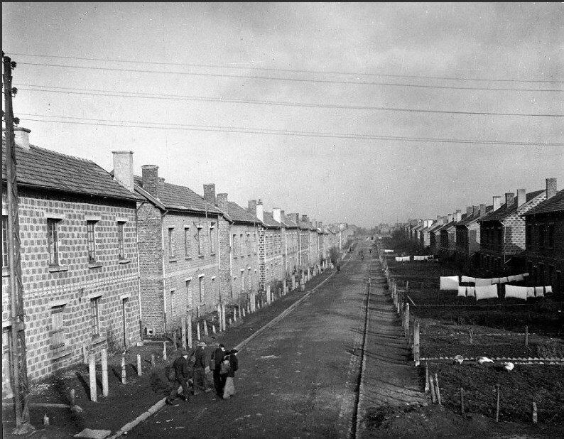 1945. Шахтерский поселок