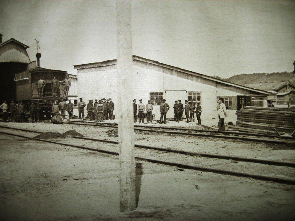 10. Станция Бурея. Временное депо