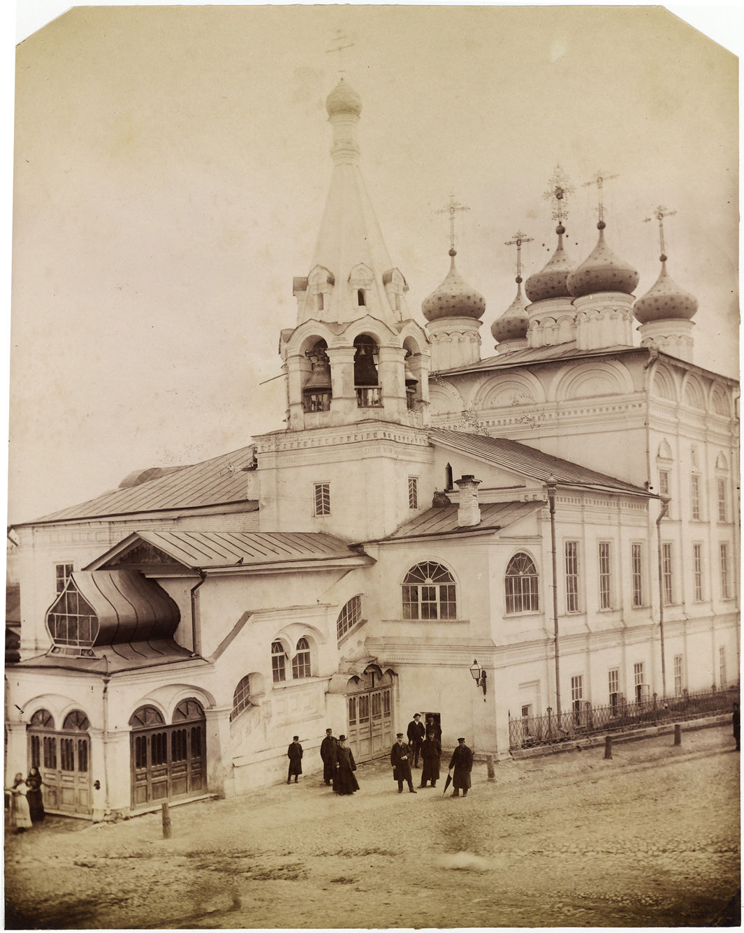 Монастырь Благовещения Пресвятой Богородицы. 1870