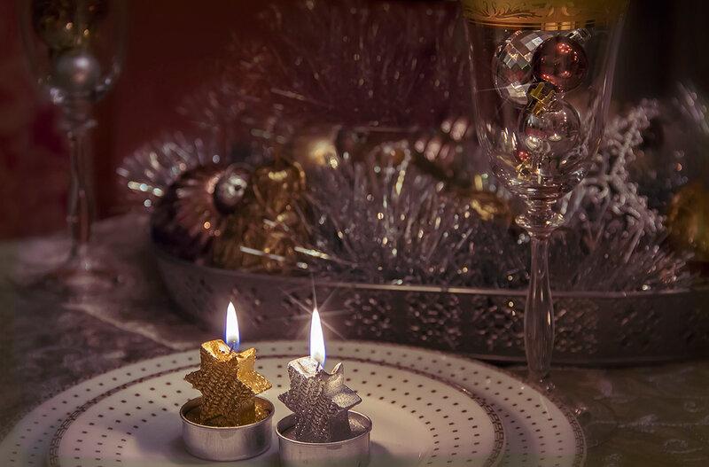 Он придет под звон бокалов и огня свечи...