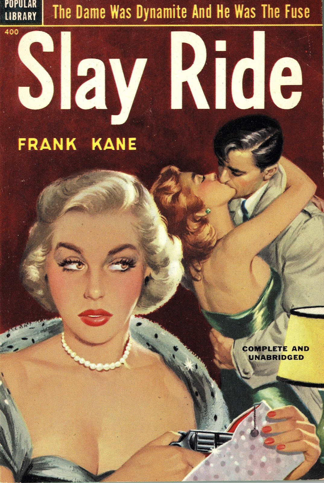 Slay Ride, by Frank Kane (Popular Library, 1952).jpg