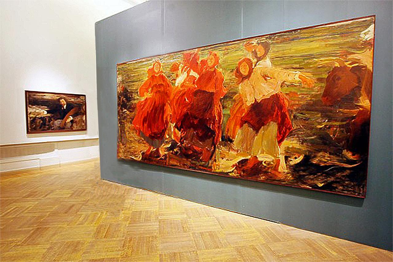 Смех,  1899, Венеция; Малявин Филипп Андреевич (1869-1940)