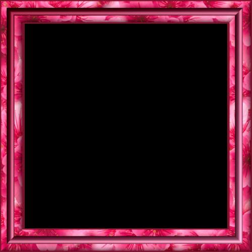 рамки розовые