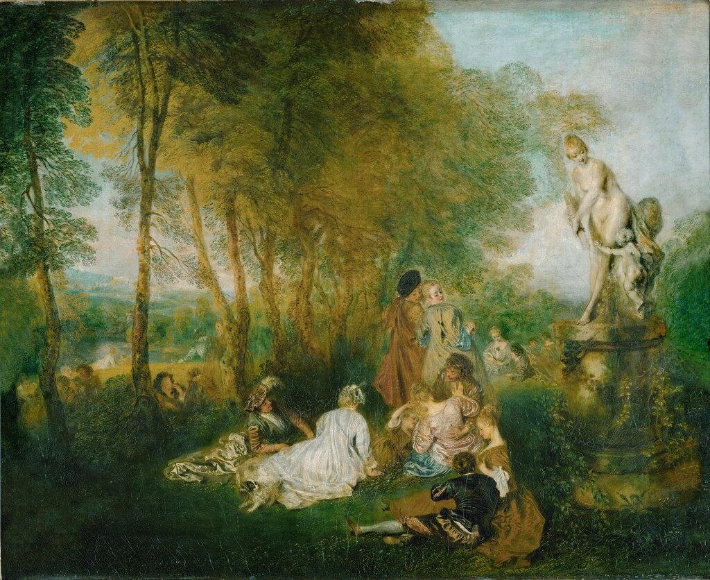 Праздник любви (ок.1717) (61 x 75) (Дрезденская галерея).jpg