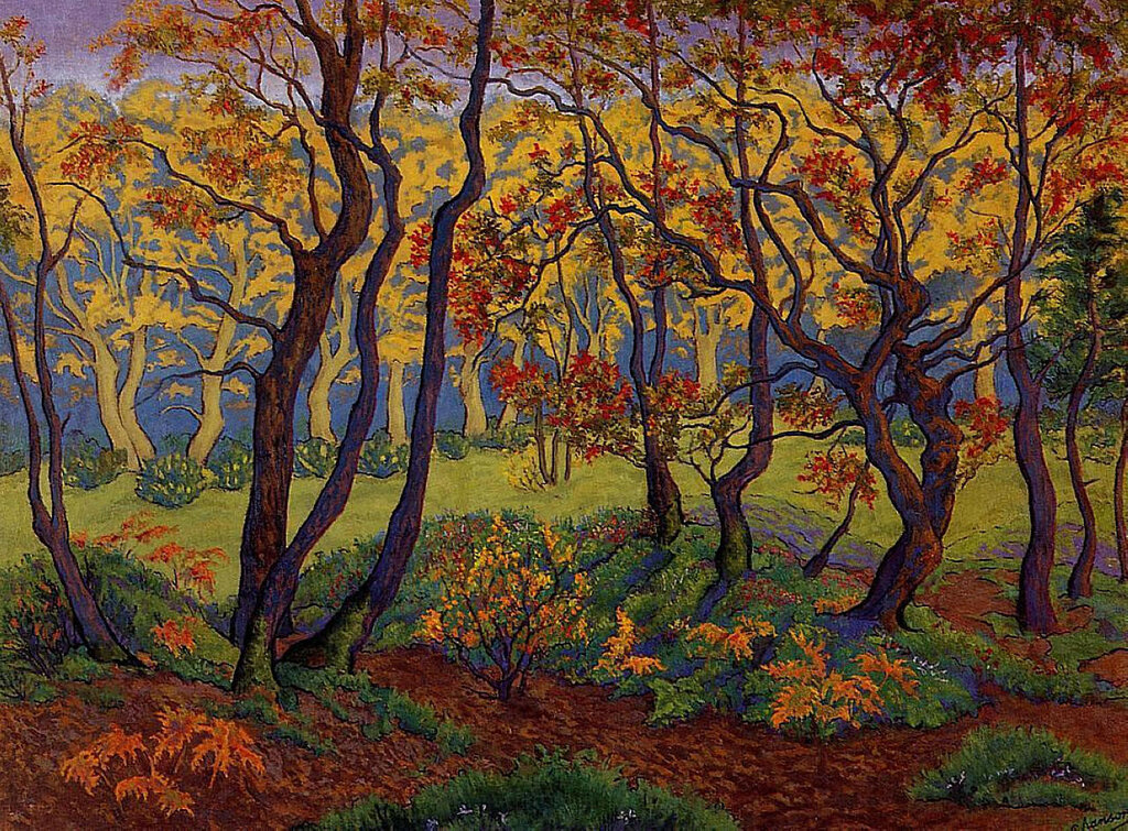 Paul Ranson - The Clearing (also known as Edge of the Wood), 1895.jpeg