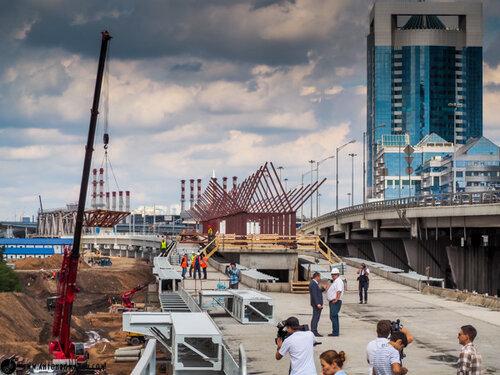 МКЖД. ТПУ Международная. Moscow City