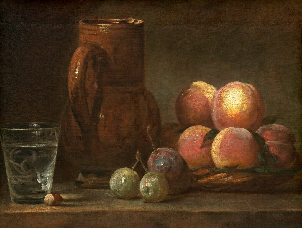 Fruit, Jug, and a Glass