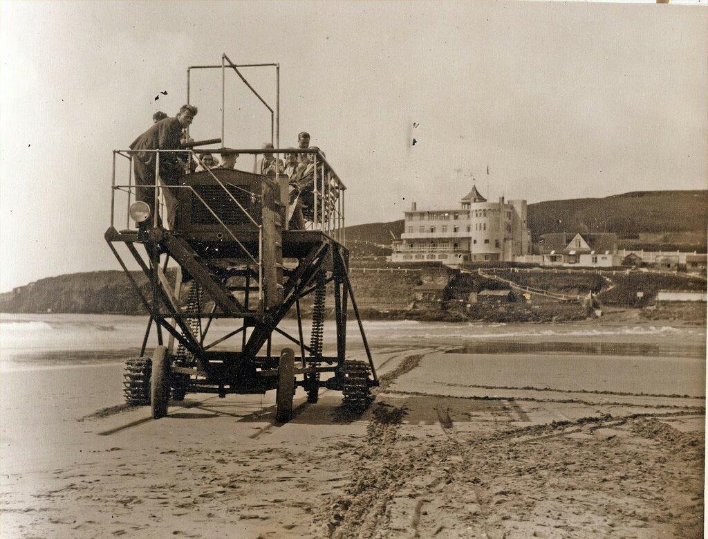 Tractor Burgh Island, 1932