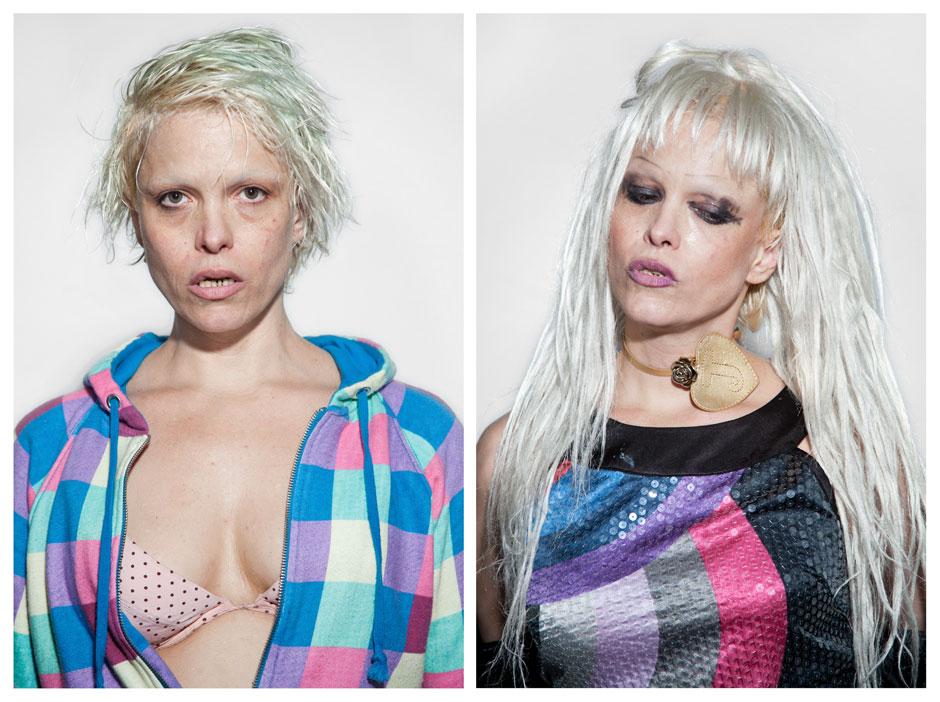 Серия портретов бывших наркоманов Джен Осборн (10 фото)