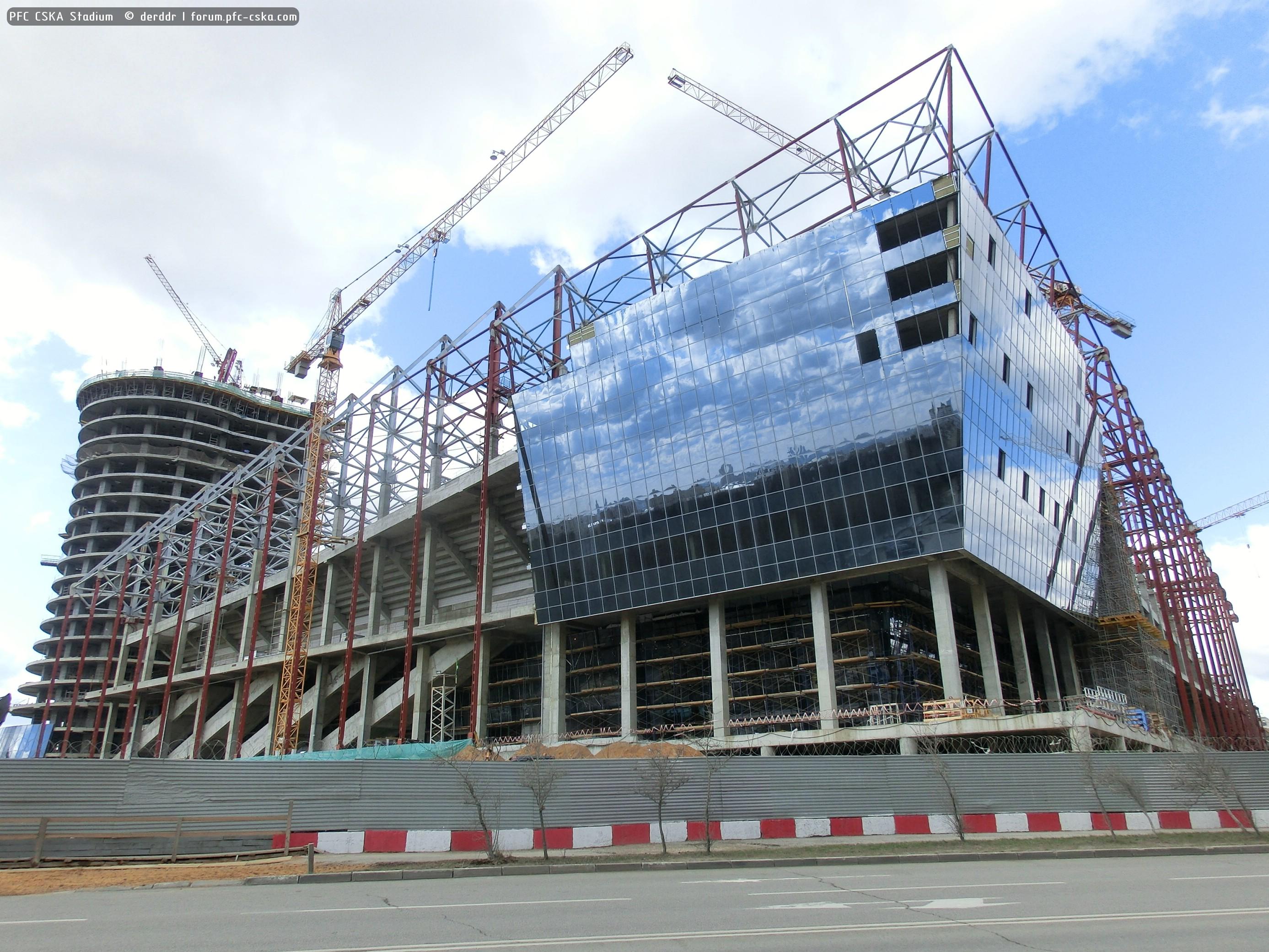 цска строительство стадиона фото