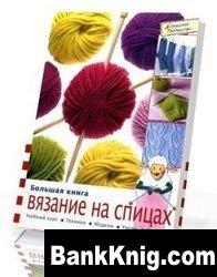 Книга Большая книга: вязание на спицах