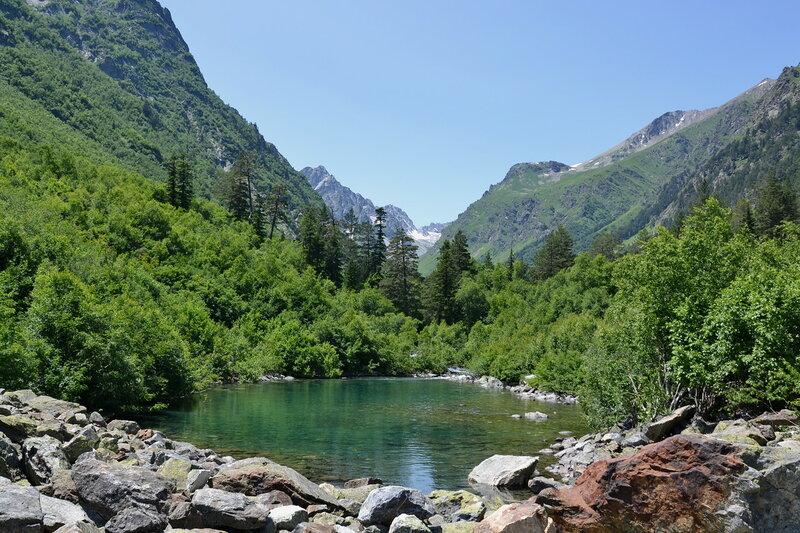 Малое Бадукское озеро