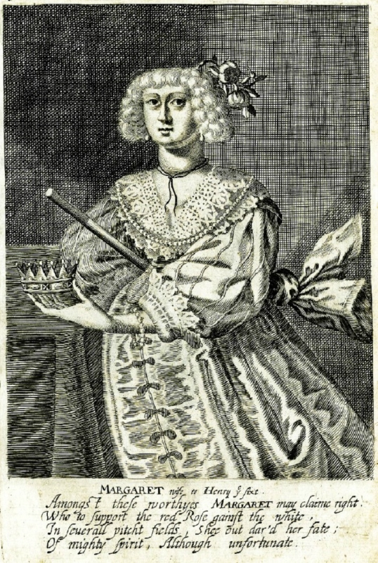 George Glover c 1630 The Nine Woeman Worthys  Margaret wife to Henry the sixt.jpg
