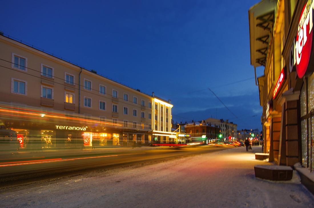 Вечерний Томск