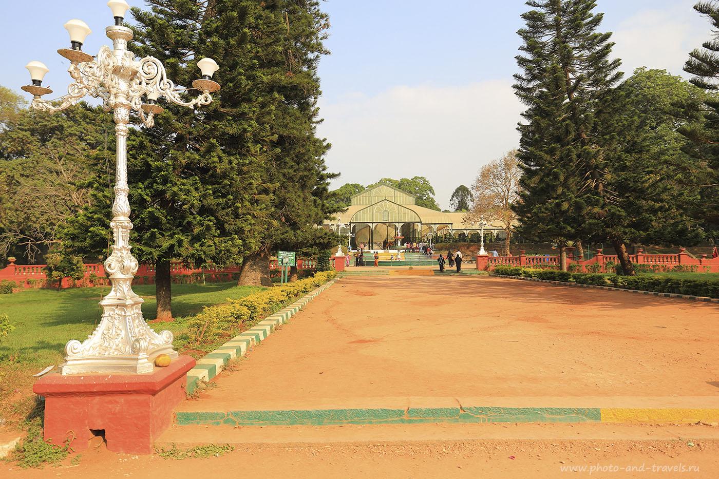 8. Отдых в Индии. Отзывы об экскурсии в ботанический сад Бангалора. Штат Карнатака