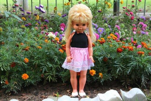юбочка для куклы с топом
