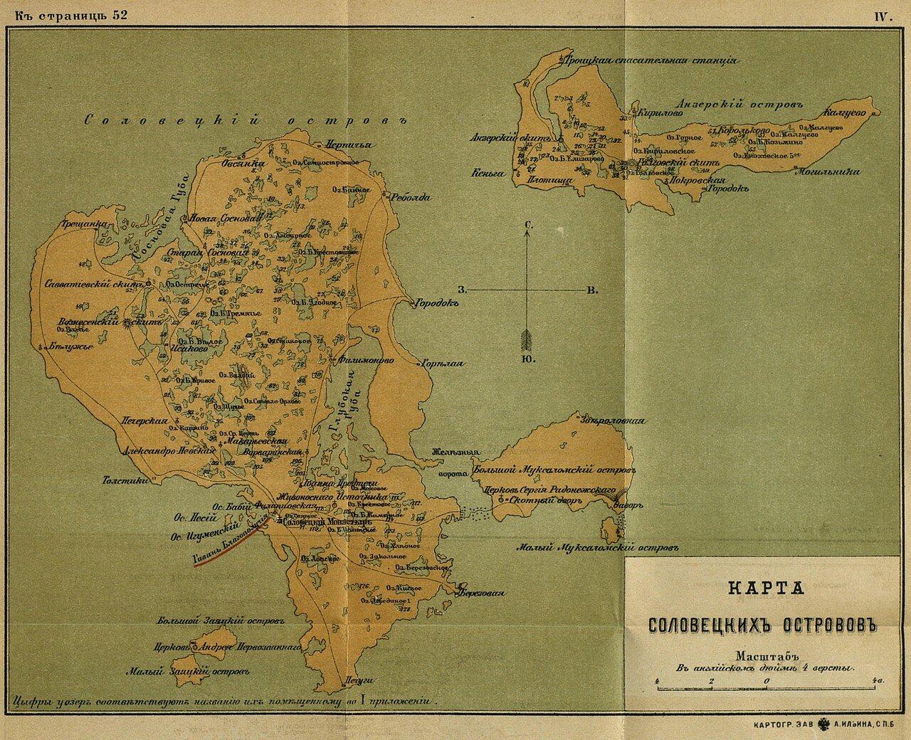Соловецкие острова, 1899
