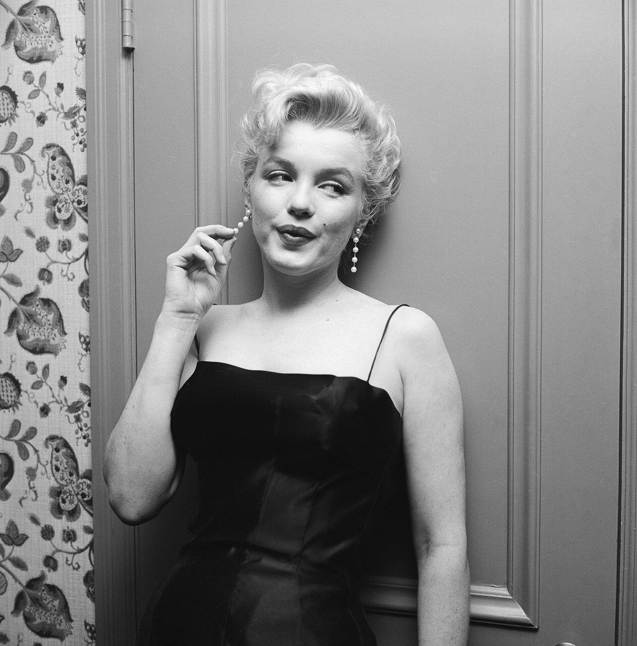 March 3, 1956, Hollywood, Marilyn Monroe