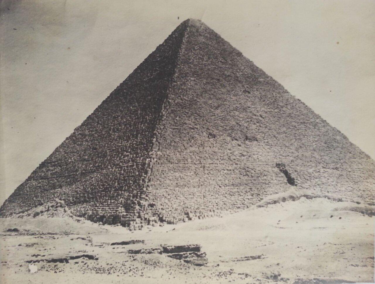Гиза. Пирамида. 1920