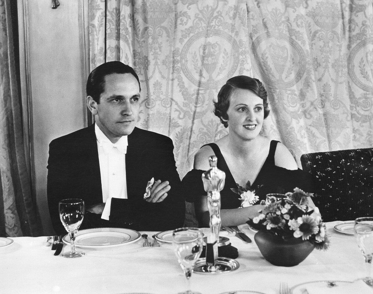 1932. Фредрик Марч — «Доктор Джекилл и мистер Хайд» (Dr. Jekyll and Mr. Hyde) со своей женой Флоренс Элдридж