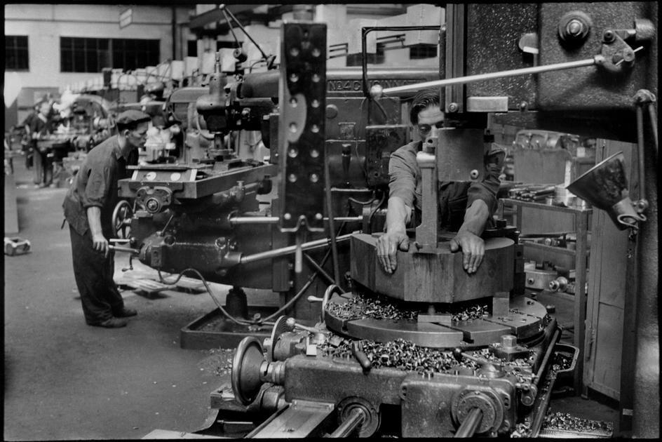 1954. Москва. Завод «ЗИС»