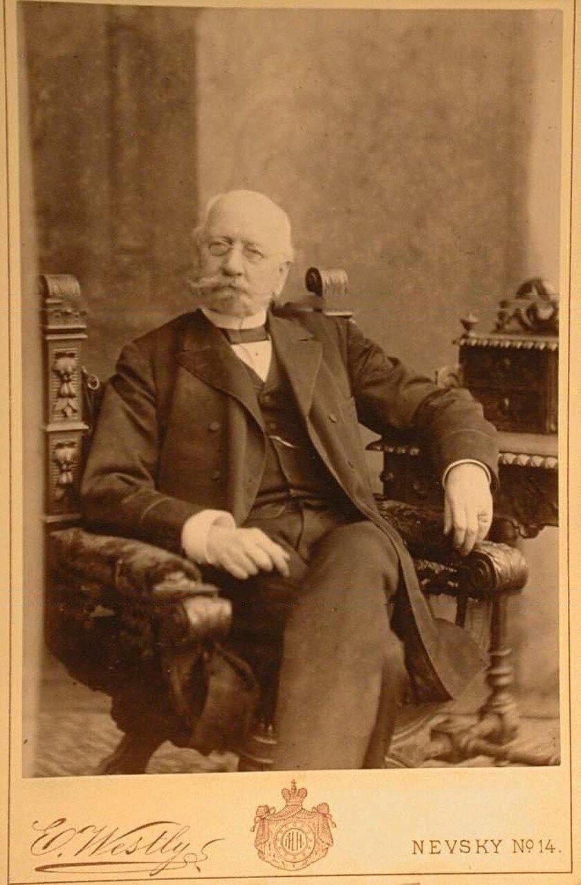 Гершау Александр Петрович (1825—1904) — генерал от артиллерии (1886), переименованный в действительные тайные советники (1892), начальник 3-й кавалерийской дивизии, почётный опекун Петербургского присутствия Опекунского совета учреждений императрицы Марии