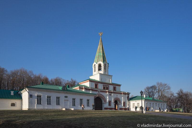 Ансамбль передних ворот усадьбы Коломенское