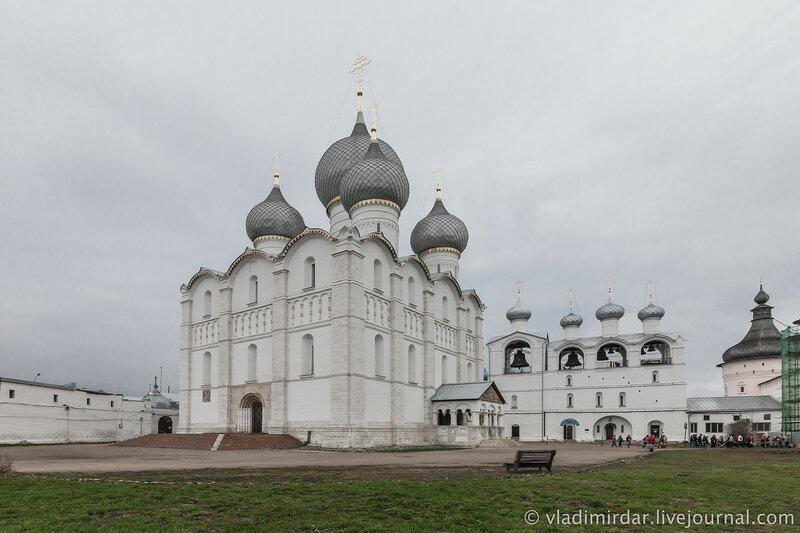 Успенский собор. Ростовский кремль.