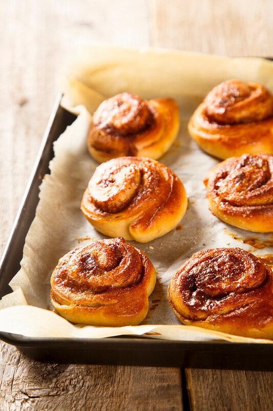 шведские булочки с корицей рецепт с сухими дрожжами