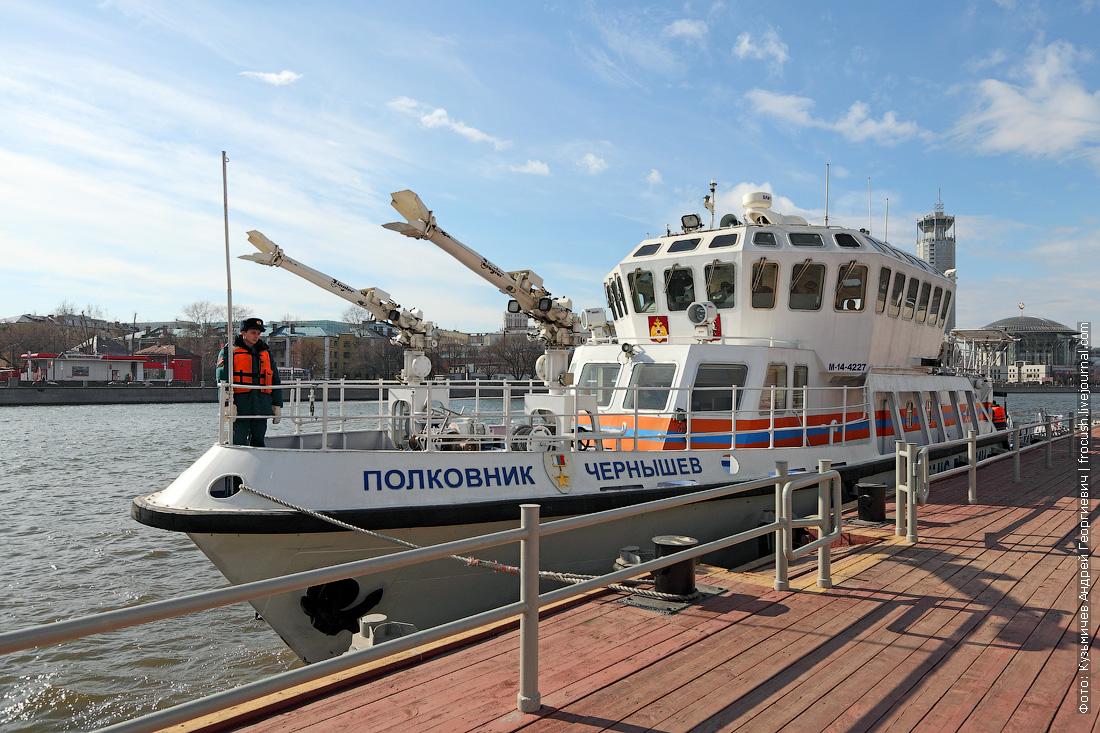 многоцелевой пожарно-спасательный корабль Полковник Чернышев