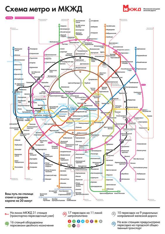 Метро москвы схема 2030