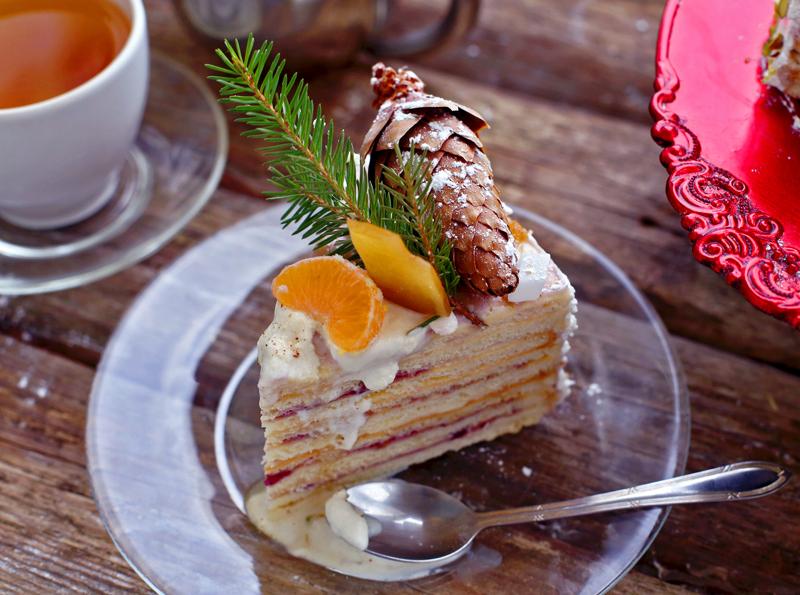 Сметанник - пошаговый рецепт вкусного торта с фото #11.