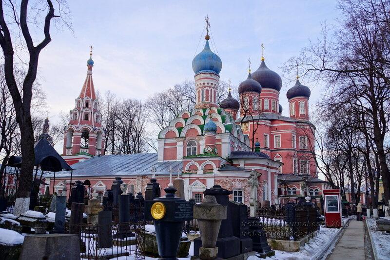 Малый («старый») собор Донской иконы Божией Матери Донского монастыря, Москва