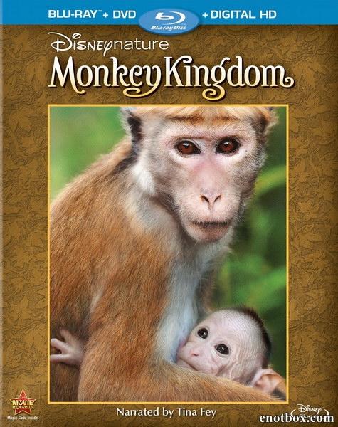 Королевство обезьян / Monkey Kingdom (2015/BDRip/HDRip)