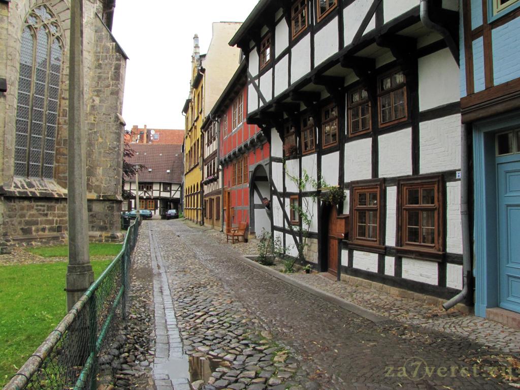 Кведлинбург - царство фахверка, Германия