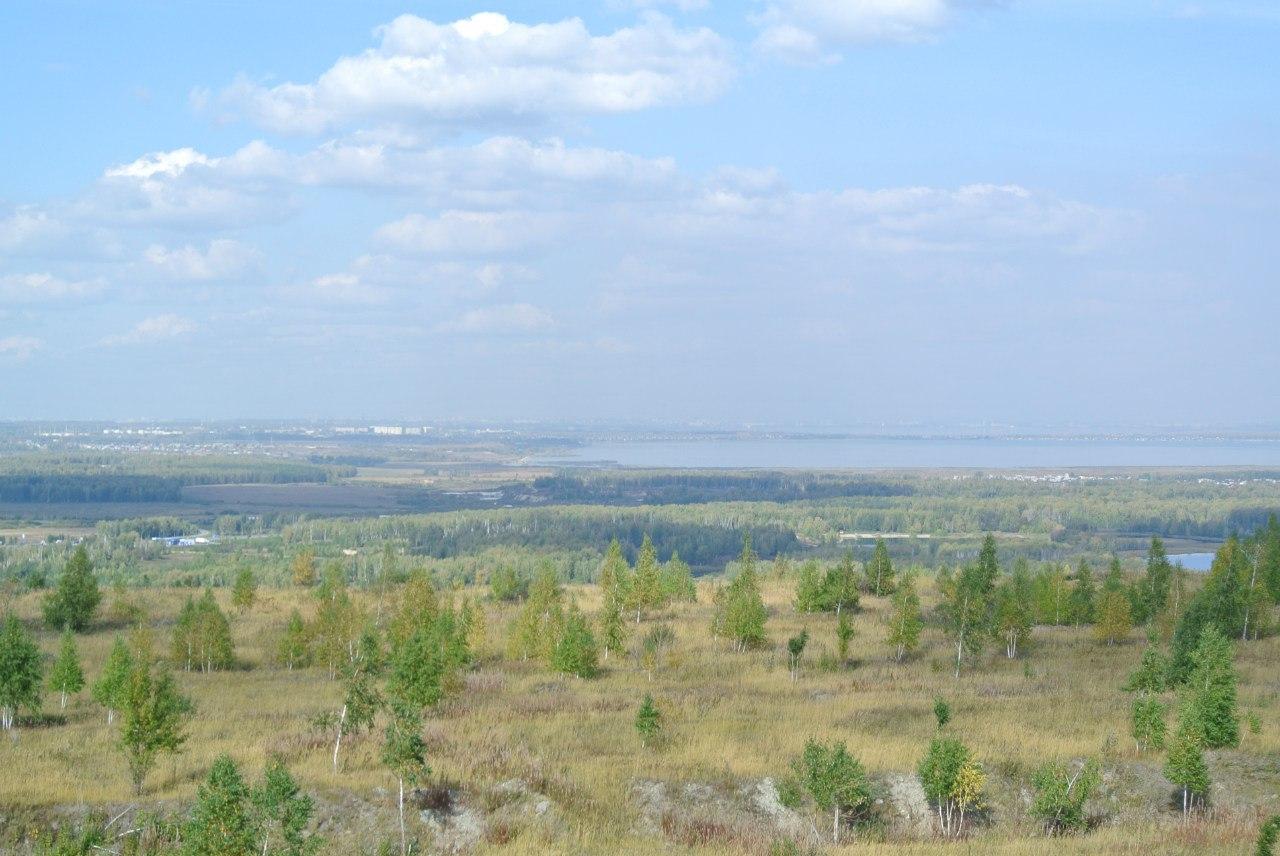 Вид с самого верха. Безжизненный пейзаж (19.10.2015)