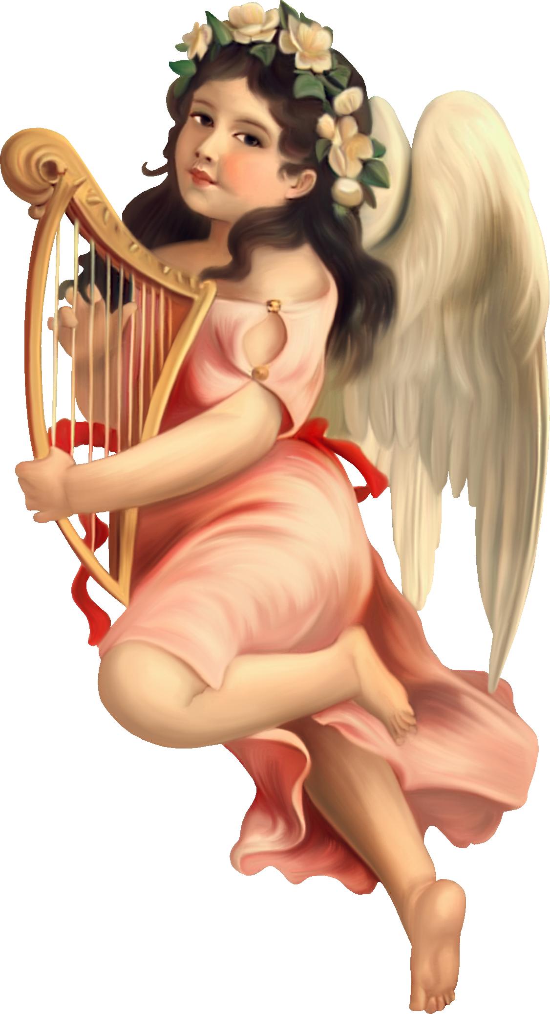 что ангелы с арфами картинки рамки для картин