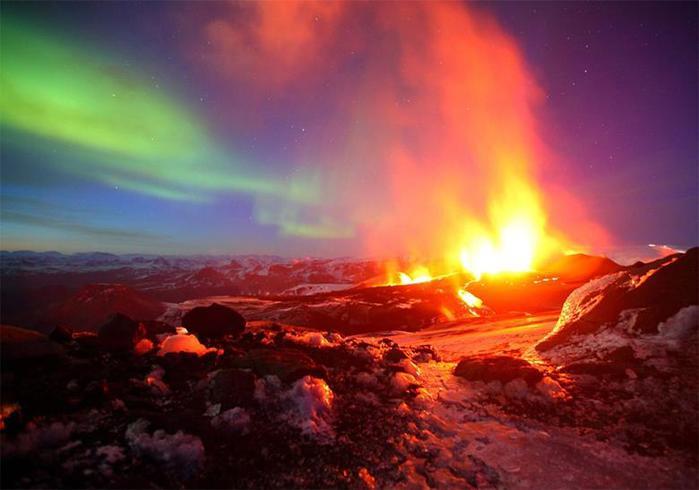 Красивые фотографии полярного сияния 0 10d621 2d52060b orig