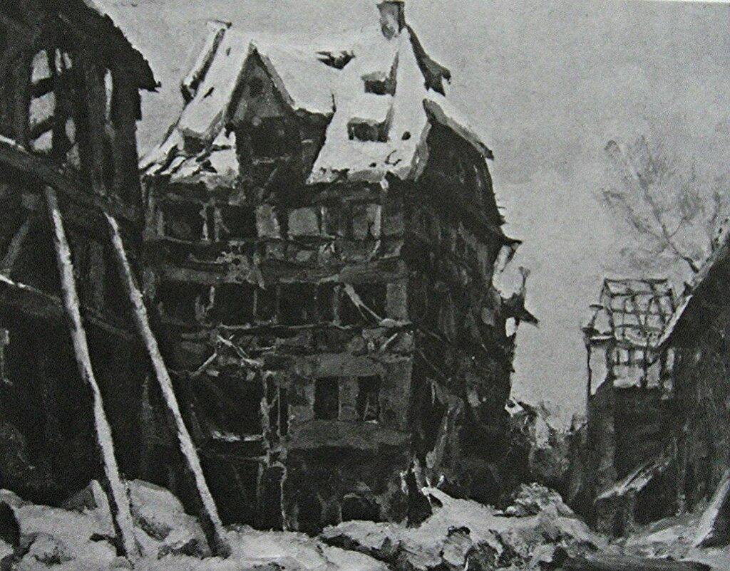 albrecht-durer-house in nuremberg 1945
