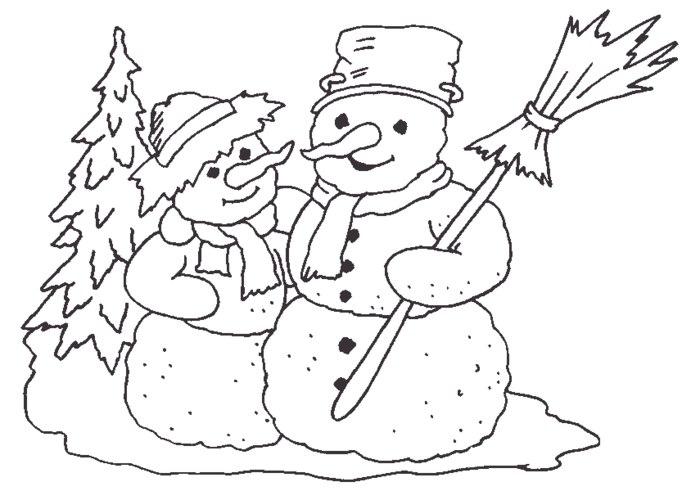 нужно тело шаблон снеговика без всего
