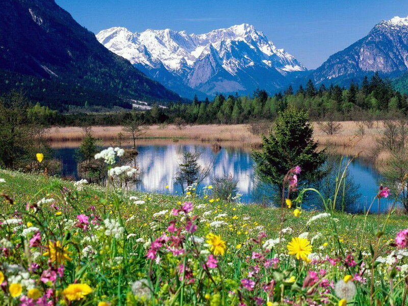 Loisach-River  Долина реки Лойзах в Баварии.jpg