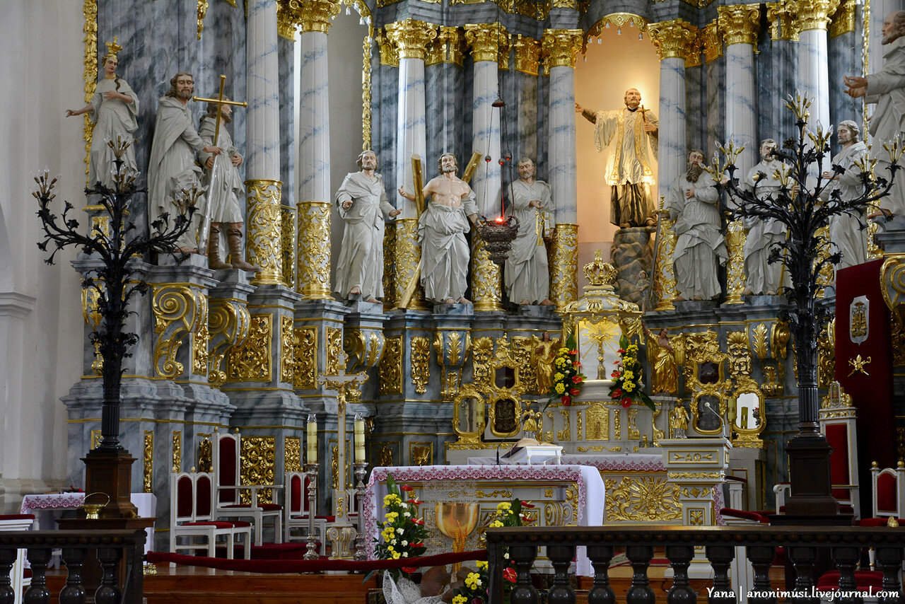 Кафедральный собор Святого Франциска Ксаверия или Фарный костёл в Городно