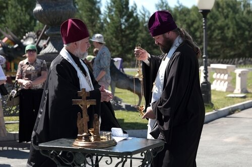 Российский День памяти и скорби 22 июня 2015 в Новосибирском Крематории
