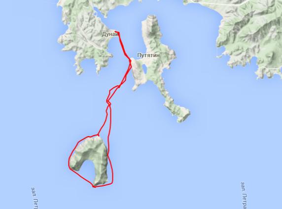 Прогулка на Аскольд - Kayaking   Canoeing trip   EveryTrail.png