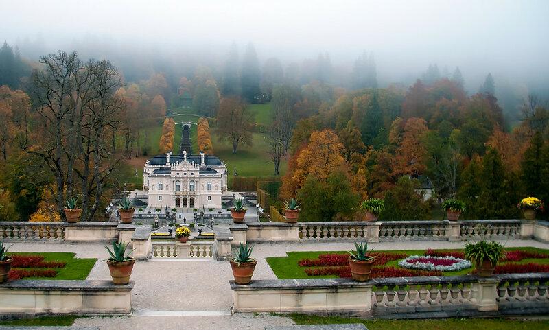 Германия. Замок Линдерхоф.